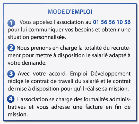 Mode d'emploi de l'association